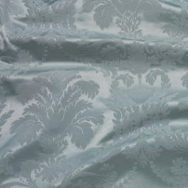 Duck Egg Blue Damask