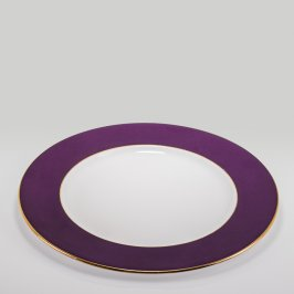Purple Rim Gold Line