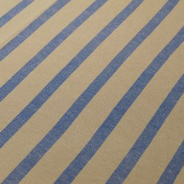 Natural/Blue Stripe