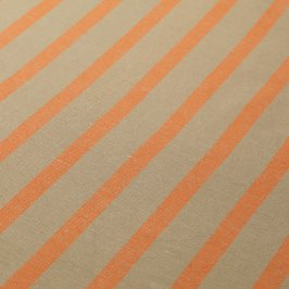 Natural/Mandarin Stripe