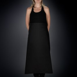 Apron Waist Length Black