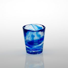 Shot Glass Blue