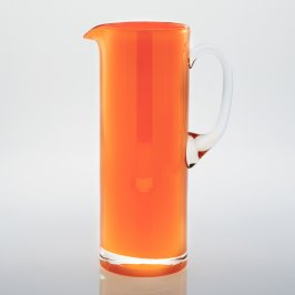 Harlequin Jug Orange