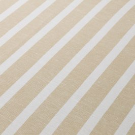 Natural/White Stripe